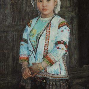 White Headdress Miao Tribe