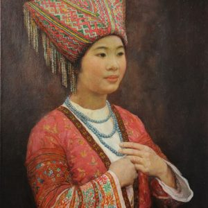 Elegant Maiden Miao Tribe