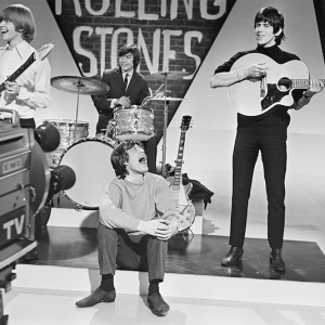 Rolling Stones Filming