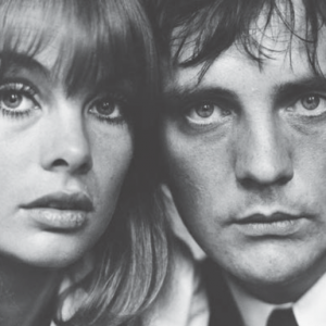 Jean Shrimpton with Terence Stamp