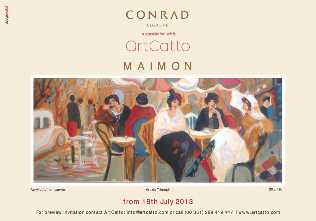 Maimon Exhibition at the Conrad Algarve