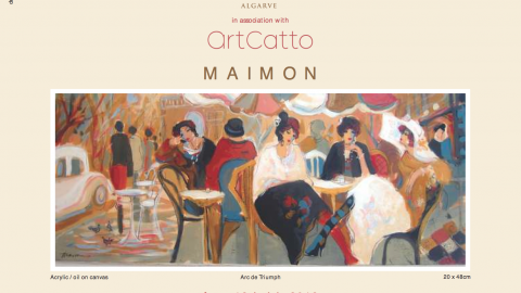 Maimon Exhibition at the Conrad Algarve