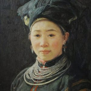 Beauty in Black Zhuang Tribe