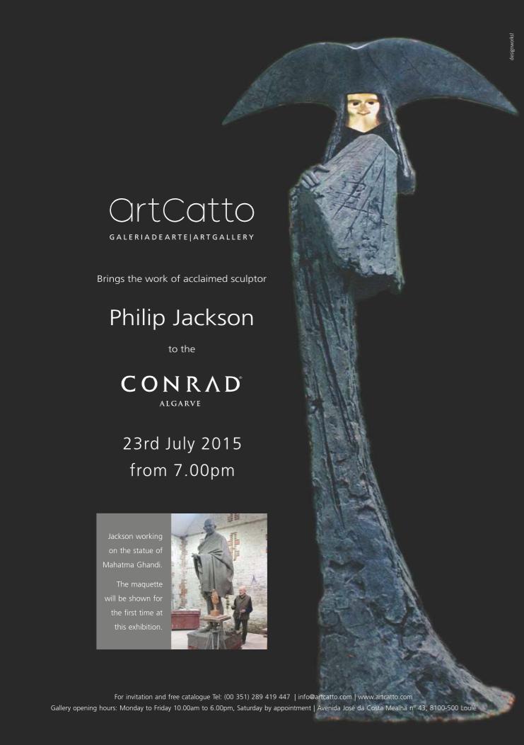 Philip Jackson Exhibition at Conrad Algarve