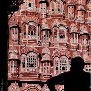 India  Jaipur wind palace 40 x 80