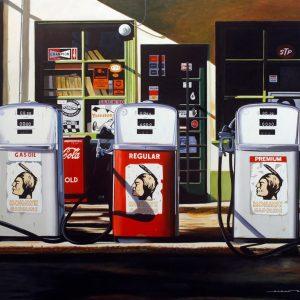 Mohawk gasoline 162 x 130 cm