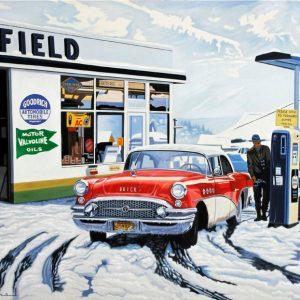 Ritchfield gasoline 92 x 73