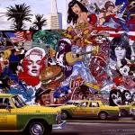 San Francisco mural 130x 97