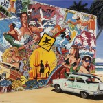 surf mural 130 x100