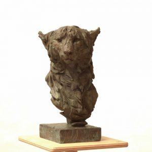Cheetah - bronze - lost wax casting 5:8 - 46x26x26cm 2