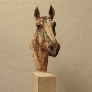 Horse - wood - 197x101x26cm 2