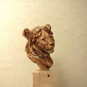 Lion - Wood - 175x50x55cm