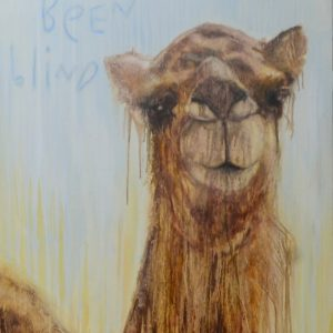 Must have been blind - 137x76cm