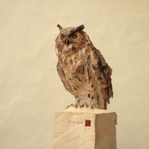 Owl - Wood - 161x25x27cm