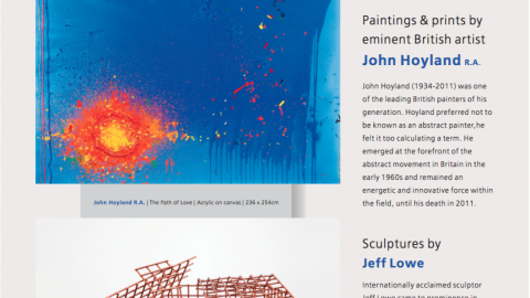 Free Forms – John Hoyland R.A. & Jeff Low