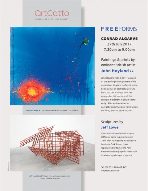 Free Forms – John Hoyland R.A. & Jeff Lowe