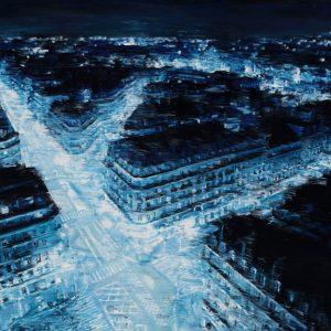 Paris Blue - 35 x 50cm