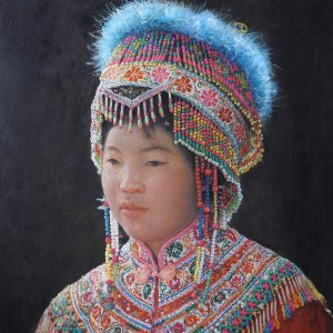 70x55cm Miao Tribe