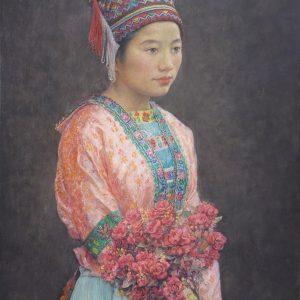 90x65 Miao girl Liu Xiao Yan