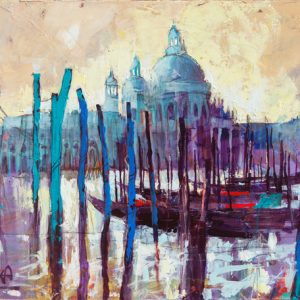 2018 09 Venezia, 50x70cm, Acrylic on Canvas (1)