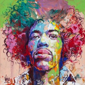 2019 01 Jimi, 150x150 cm, Acrylic on Canvas (3)
