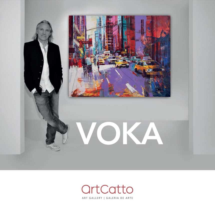 Artcatto - Art Gallery Algarve - Voka Exhibition