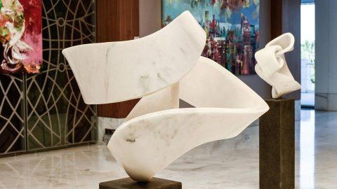 Voka & Georg Scheele Exhibition at Conrad Algarve