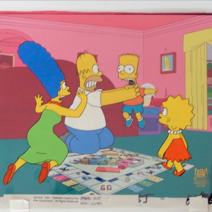 Simpsons Monopoly