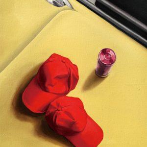 Fashion Red Caps