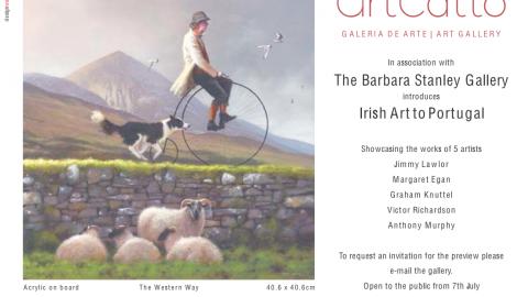 Irish Art to Portugal