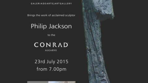 Philip Jackson Exhibition at Conrad Algarve