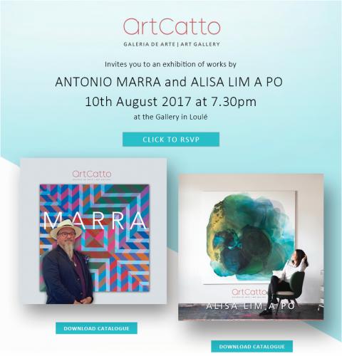 Antonio Marra and Alisa Lim A Po