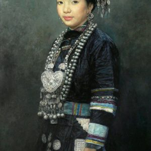 Cerimonial Dress,Dong Tribe 100x60cm