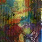 Artcatto - Art Gallery Algarve - Pedro Guimarães - A&B-150-x-300-Acrylic-on-mdf-over-canvas