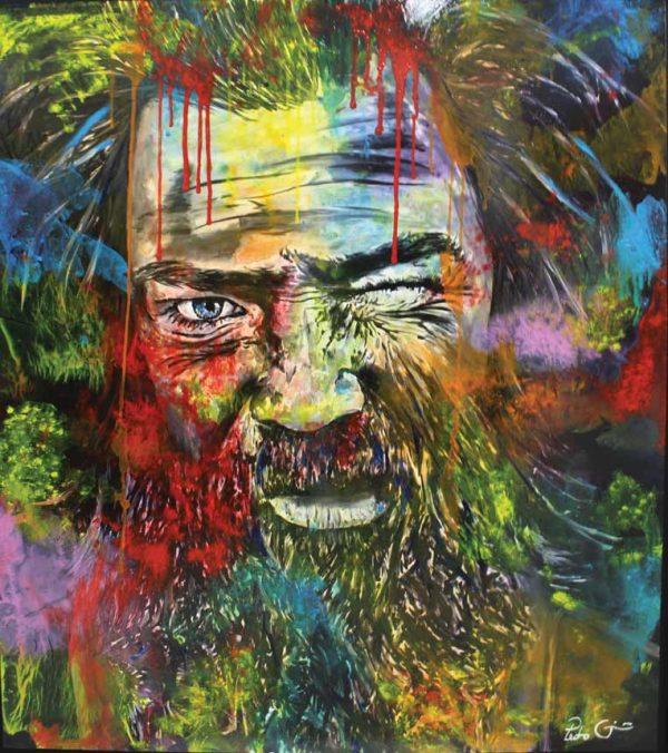 Artcatto - Art Gallery Algarve - Pedro Guimarães - Blind-land-160-x-180cm-Acrylic-on-canvas