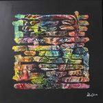Artcatto - Art Gallery Algarve - Pedro Guimarães - Find-Me-170-x-170cm-Acrylic-on-ceramic,-on-canvas