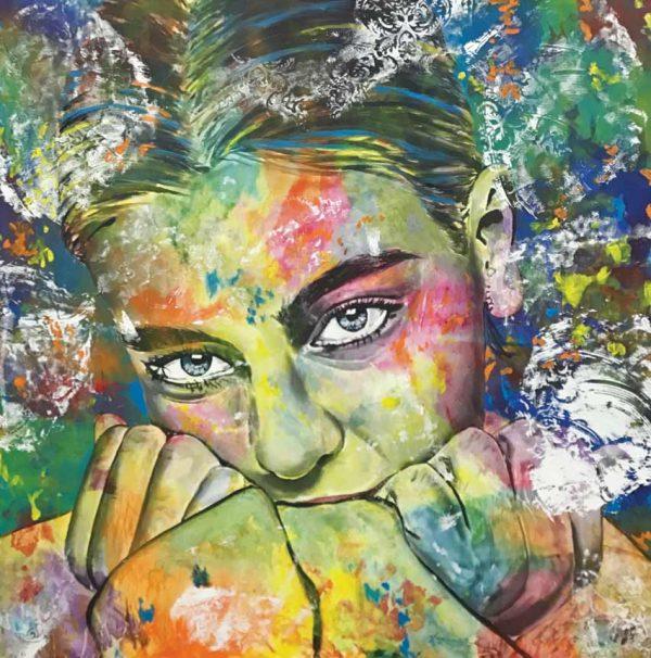 Artcatto - Art Gallery Algarve - Pedro Guimarães - I-lost-150-x-150-Acrylic-on-canvas