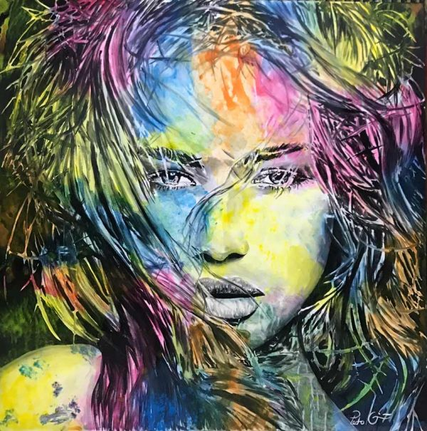 Artcatto - Art Gallery Algarve - Pedro Guimarães - I-see-you-150-x-150-Acrylic-on-canvas