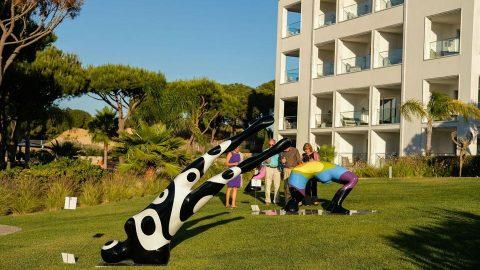Sculptural Garden Exhibition at Conrad Hotel Algarve