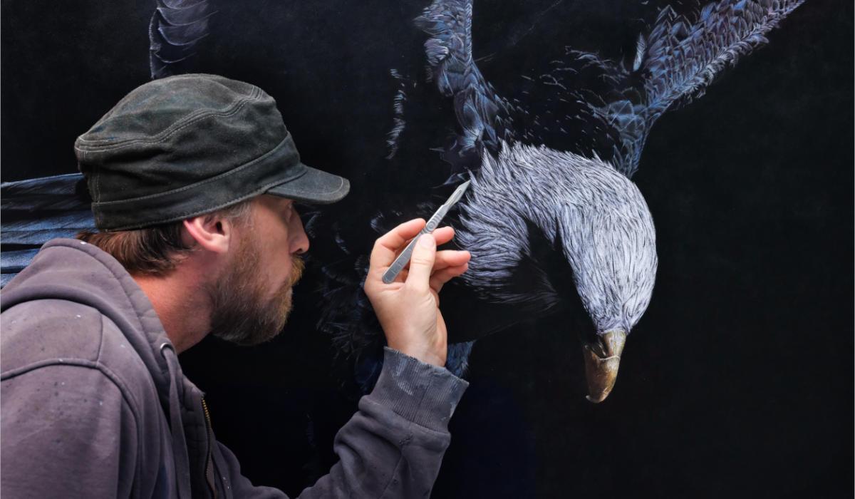ArtCatto Gallery in Loulé Algarve Mark Evans
